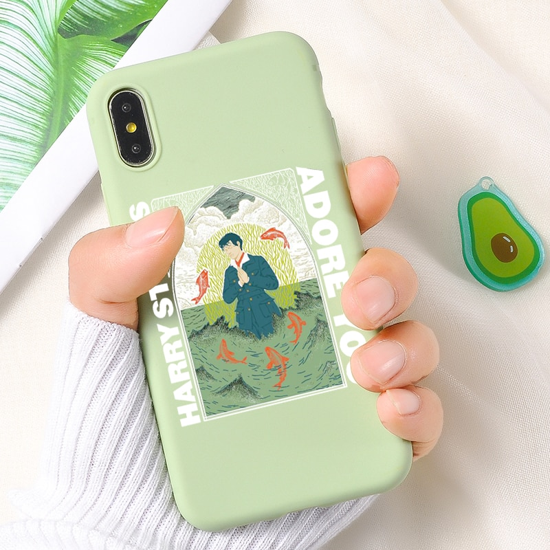 Harry Styles Case For iPhone 12 Mini Pro Max Case For iPhone 11 pro XR 8 7 Plus Phone case