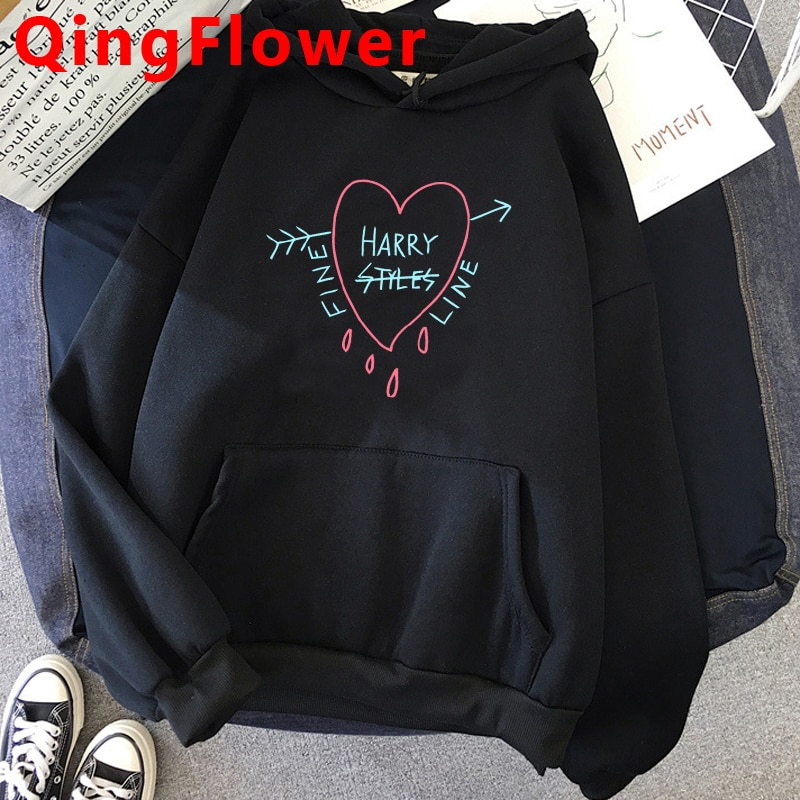 Treat People with Kindness Hoodie Plus Size Harry Styles Sweatshirt Female