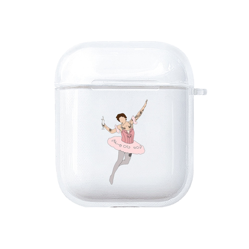 Harry Styles Case For Apple AirPods 1 2 Protective Transparent Earphone Case C