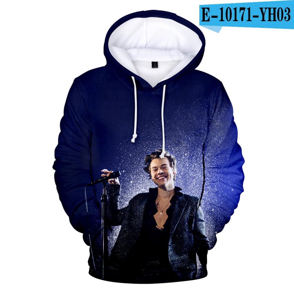 Harry Styles 3D Hoodies Winter Sweatshirts Men/women
