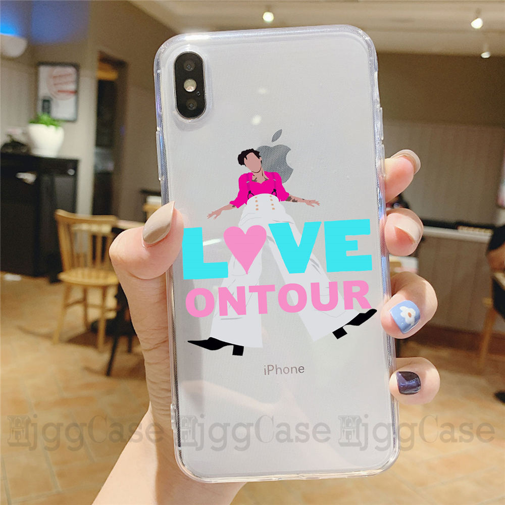 Harry Styles Love On Tour 2020 Phone Case for iPhone X XR Xs Max 11 8 7 Plus 6S 5S SE