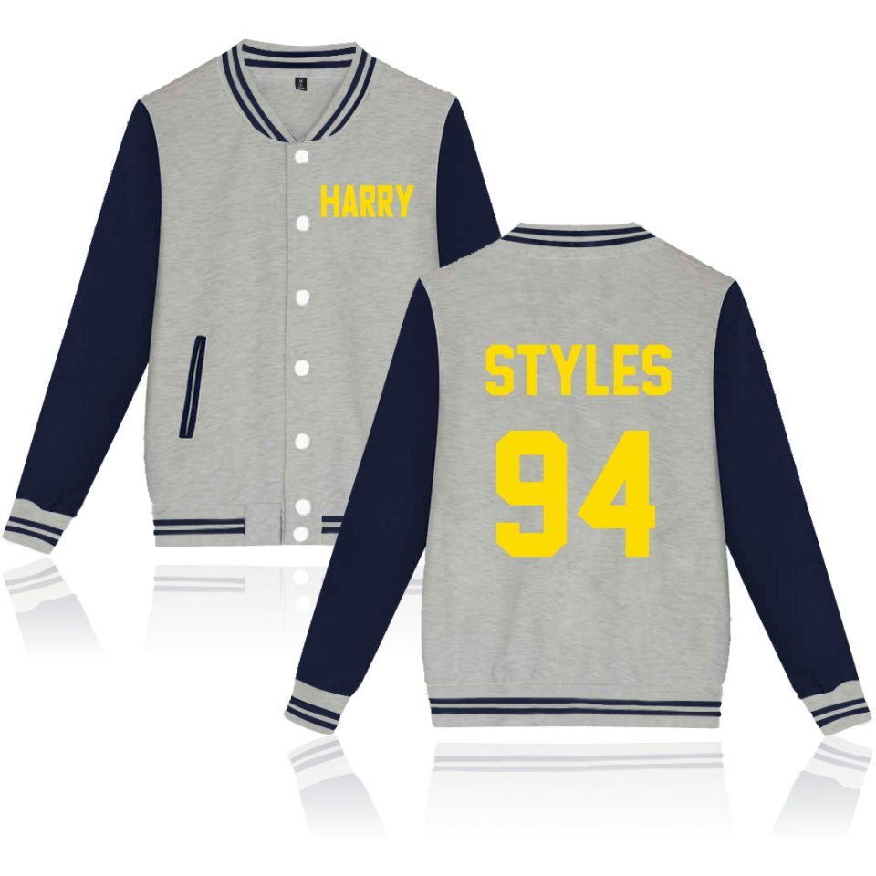 Harry Styles Baseball Jacket Sweatshirts Women/Men