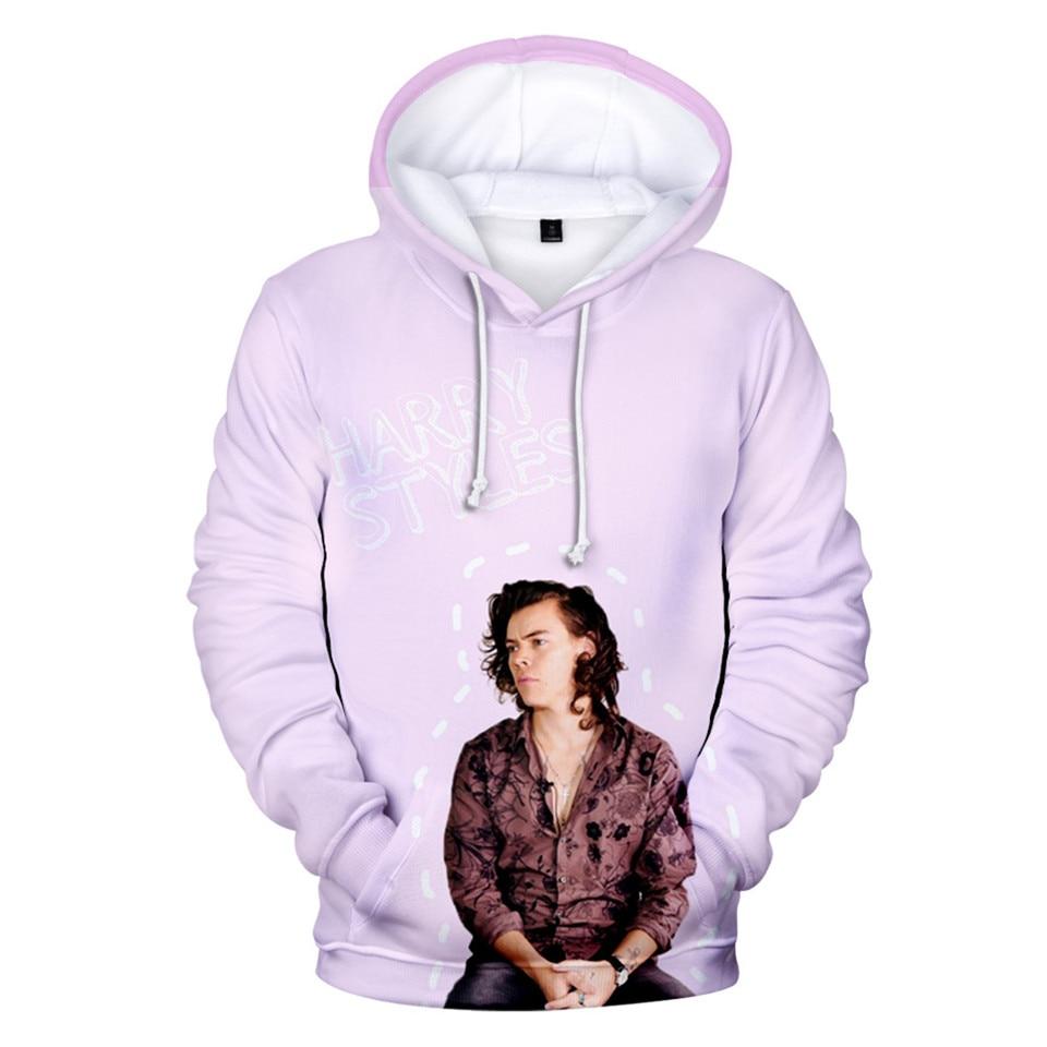 New Harry Styles 3D Hoodies Men Women Jacket