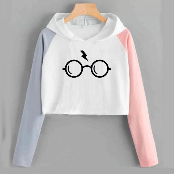 Harry Style Glasses Print Women Sweatshirt