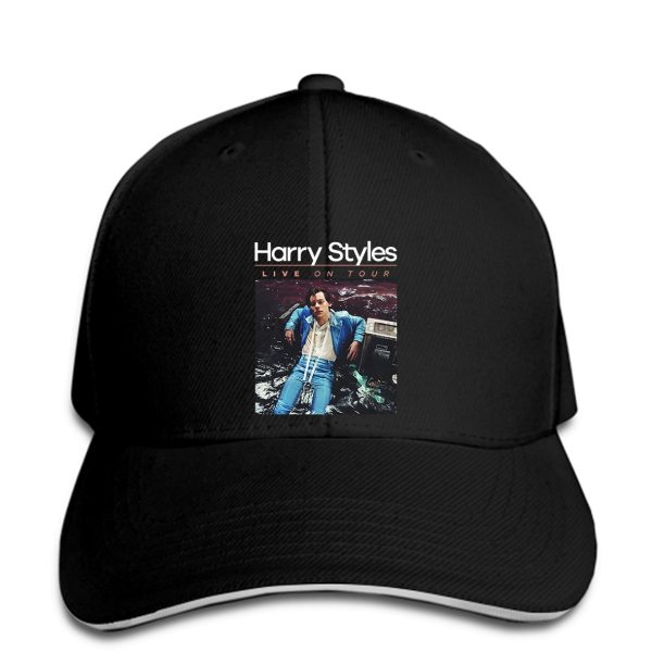 Harry Styles Baseball cap Summer Fashion Casual Men Print hats
