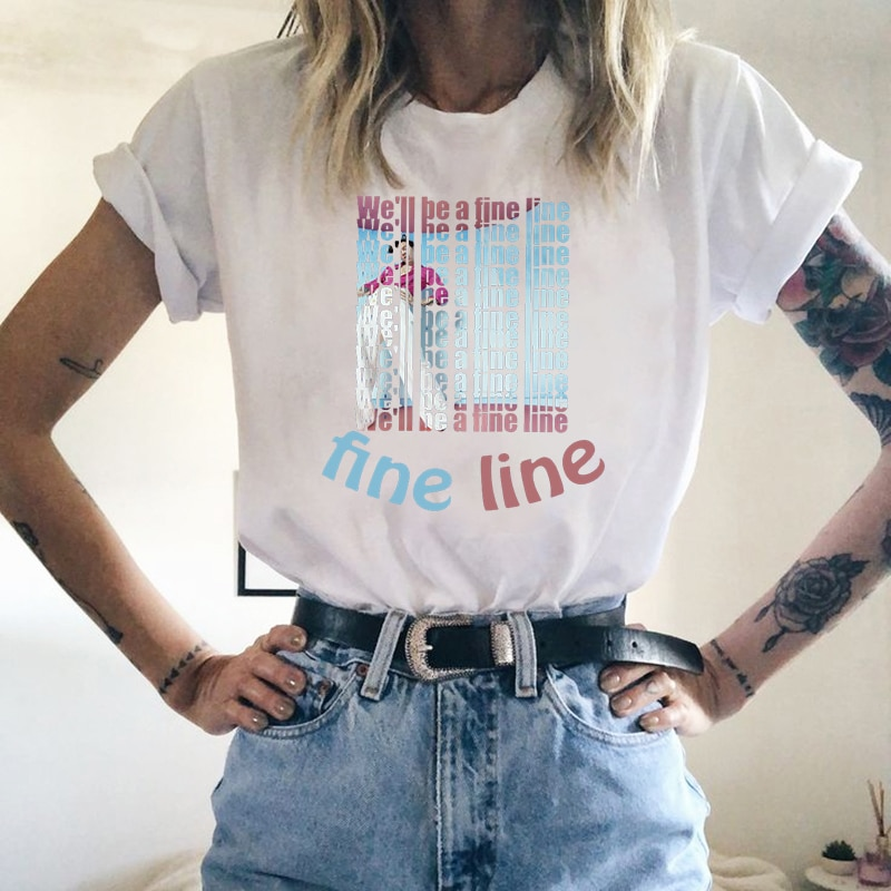 Hip Hop Harry Styles T-shirt For Women