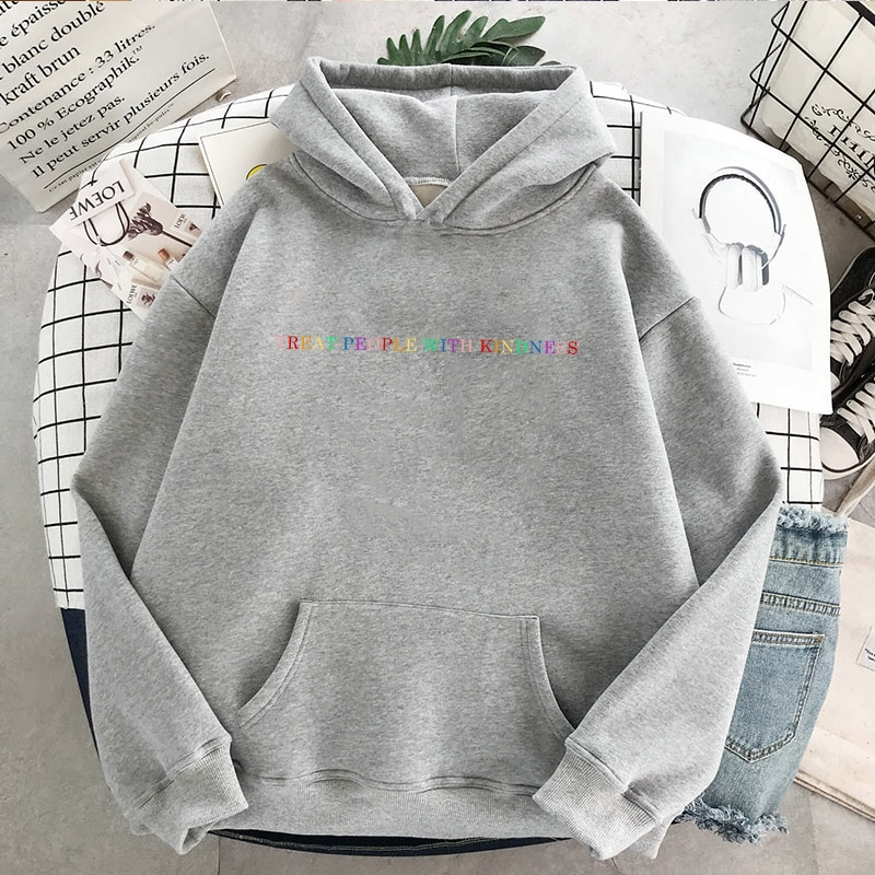 Harry Styles Winter Casual Women Hip Hop Hooded Sweatshirt