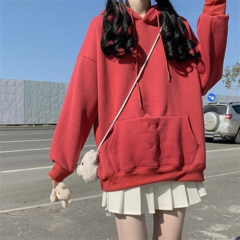 Harry Styles Bad Bunny Hoodie Plus Long Sleeves Winter Female Jacket