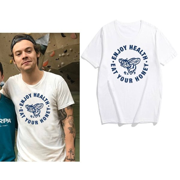 Harry Styles T-Shirt Enjoy Health Eat Your Honey Shirt