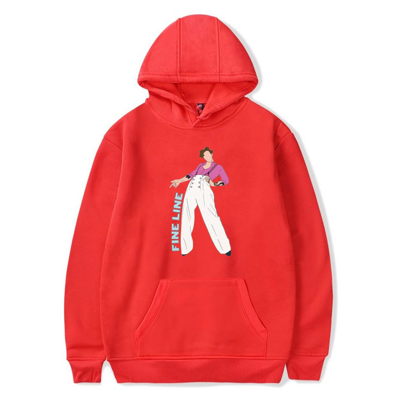 Vogue Streetwear Sweatshirt Women Harry Styles FINE LINE Hoodie Pink Coat Men And Women