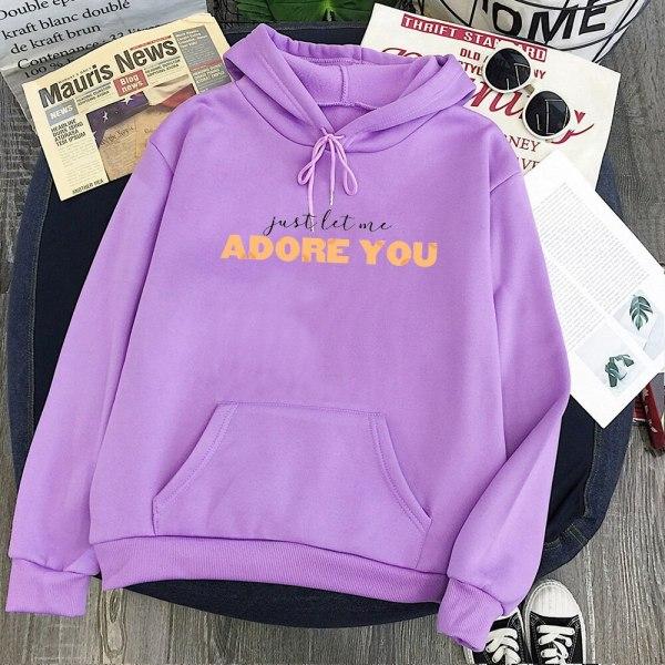 "Harry Styles ""Adore You"" Sweatshirt Hoodies Girls Fashion Vintage Kawaii Fall 2021 For Men/ Women"