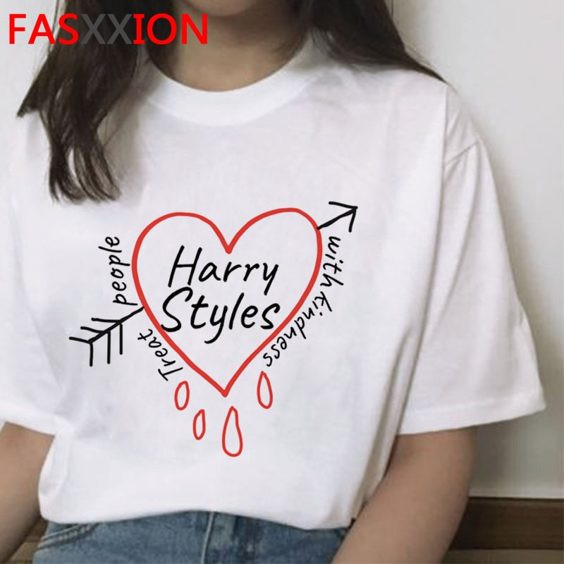 Harry Styles Treat People with Kindness top tees female grunge kawaii t shirt