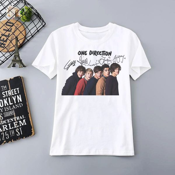 Harry Styles Merch Print T Shirt Oversized T-shirt Aesthetic 1D Girl Tops