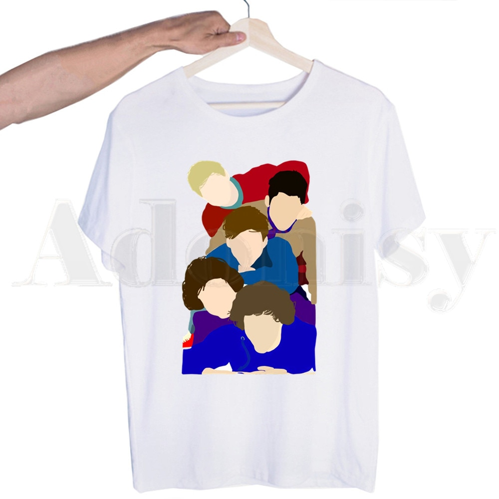 Harry Styles Merch 1D Harajuku Top Tees Streetwear Harajuku Funny T-shirts For Men/Women