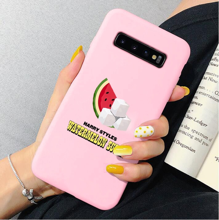 """HARRY STYLES """"WATERMELON SUGAR"""" phone case for Samsung Galaxy s20 Ultra s8 s9 s10 plus A50 A10 A20 A30 A70 A60 A51 A71"""