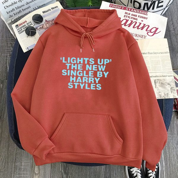 "Harry Styles ""Lights Up"" Sweatshirt Casual Print Plus Size Hoodies For Men/Women's"