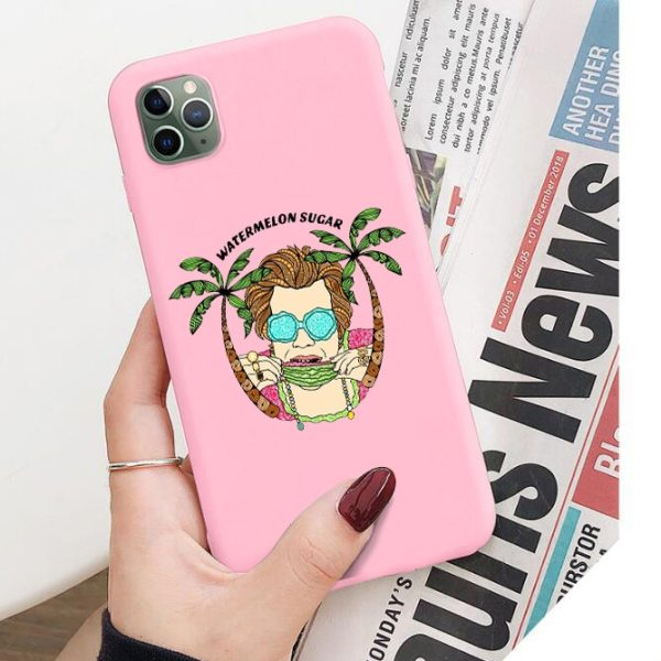 "HARRY STYLES ""WATERMELON SUGAR"" phone case For iPhone 6/6s, 6Plus/6SPlus, 7 / 8 , 7Plus/8Plus, X , XS , XR , XSMax 11pro"