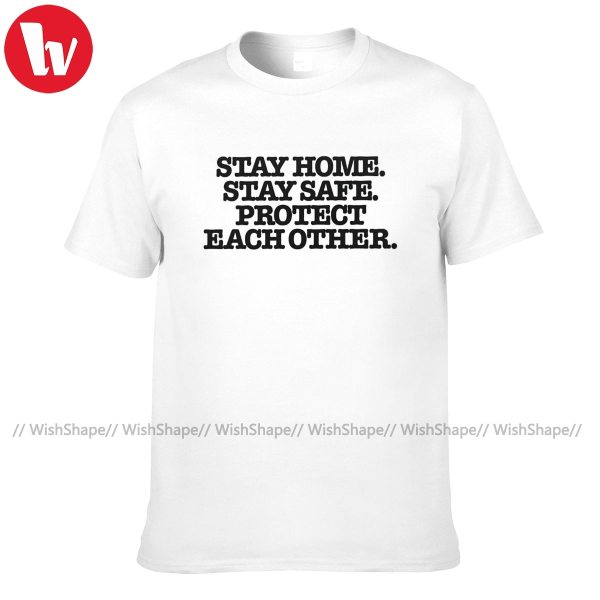Harry Styles Stay Home Stay Safe Protect T Shirt