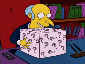 Will you choose the mystery box like I did with an AdSense advertising website