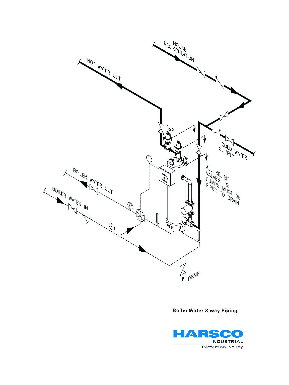 Wrg Piping Diagram 3 Way Valve