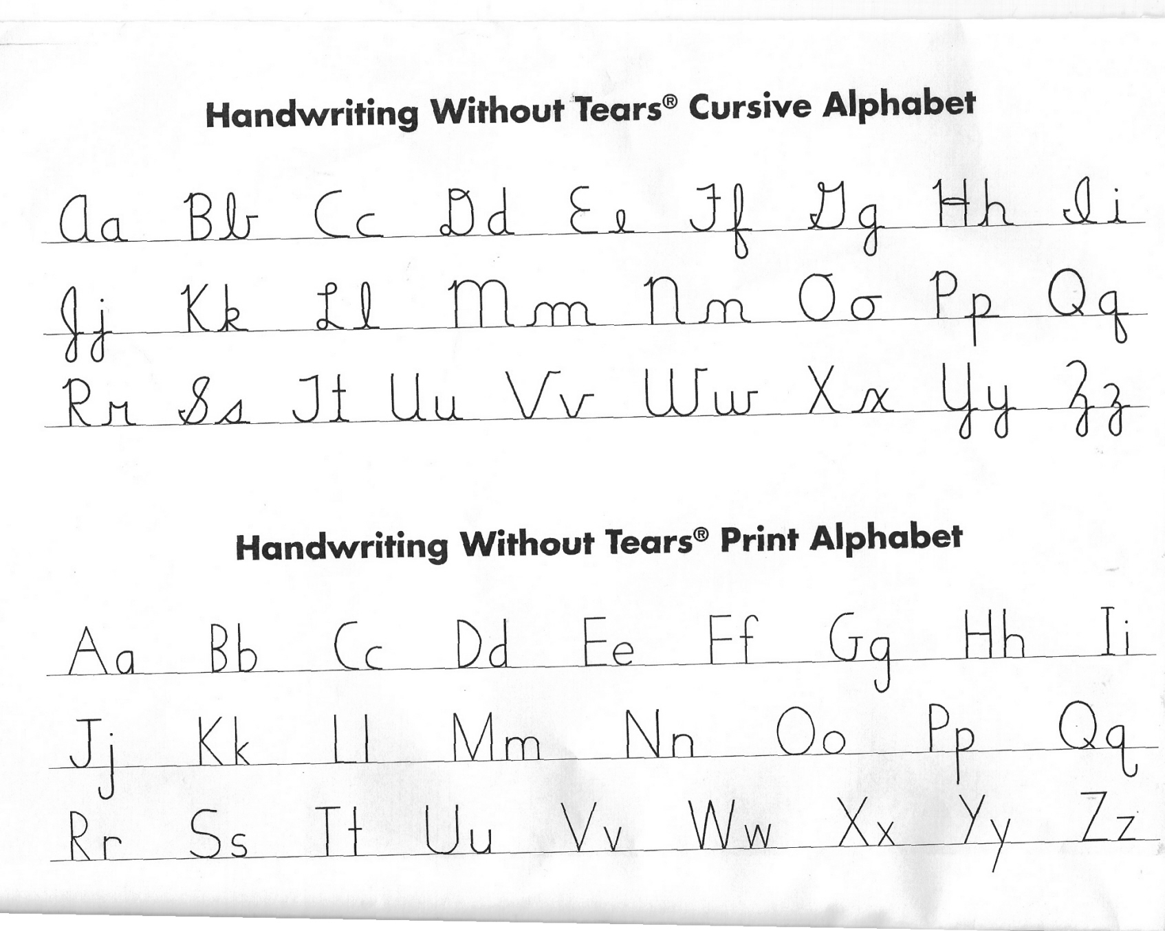 Free Worksheet Handwriting Without Tears Worksheets handwriting without tears template a the preschool corner made in program which our school uses
