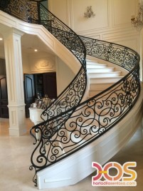 Stair Case Wrought Iron (13)