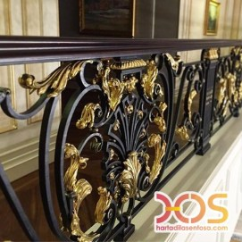 Stair Case Wrought Iron (8)