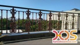 Railing Balkon Besi Tempa Klasik Mewah Modern (117)