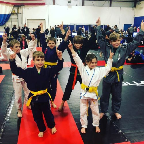 Youth Jiu Jitsu Competition Sundays Hart Kids BJJ Conshohocken