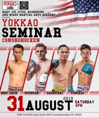 Conshohocken Muay Thai, Yokkao Muay Thai, Hart Conshohocken martial arts