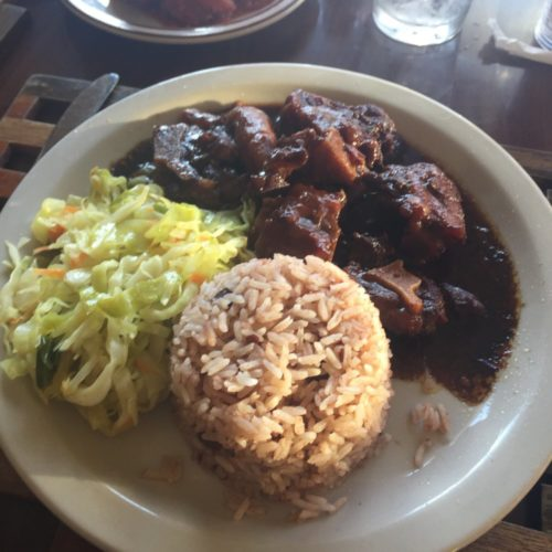 oxtails at dunn  river