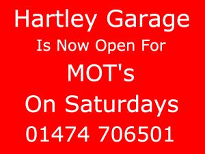 open in Hartley Longfield for MOT's