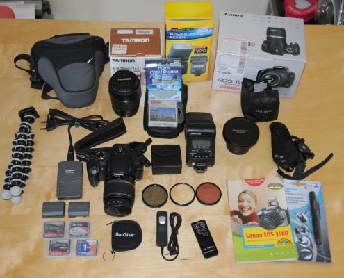 Das zweite Equipment