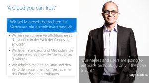 A cloud you can trust
