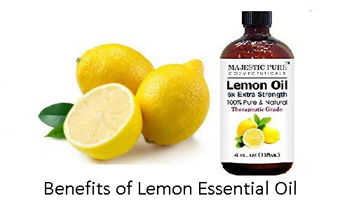 Benefits of Lemon Essential Oil For Health & Beauty