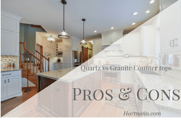 Pros and Cons of Quartz vs Granite Counter Tops – Kitchen Remodel