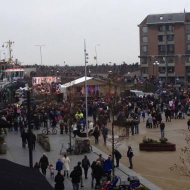 Intocht Sinterklaas in Vlissingen 2013