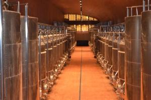 wijn vergisting rvs tanks