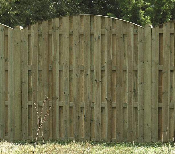 Double Sided Paling Panel - Hartwells Fencing