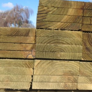 22mm x 150mm Treated softwood