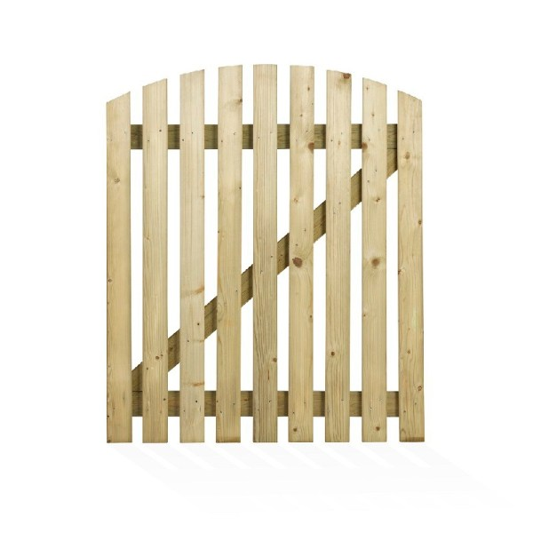 Curved Wicket Gate