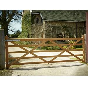 Somerset-Iroko-Five-Bar-Gate