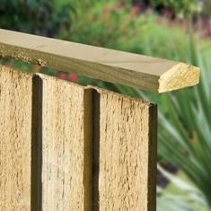 Feather Edge Capping Rail