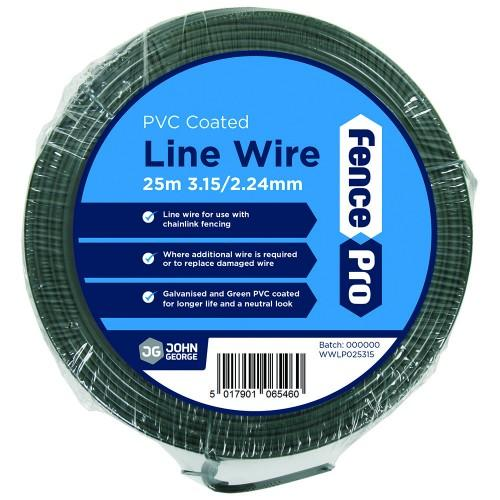 Line wire green