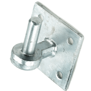 Hook on plate for double strap hinge
