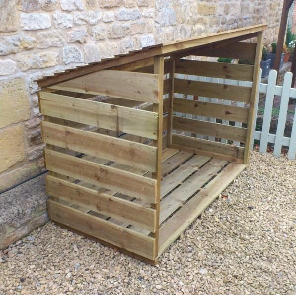 Log Store Sawn Timber