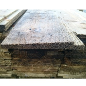 Treated Softwood Rebated Feather Edge Board 200mm x 38mm