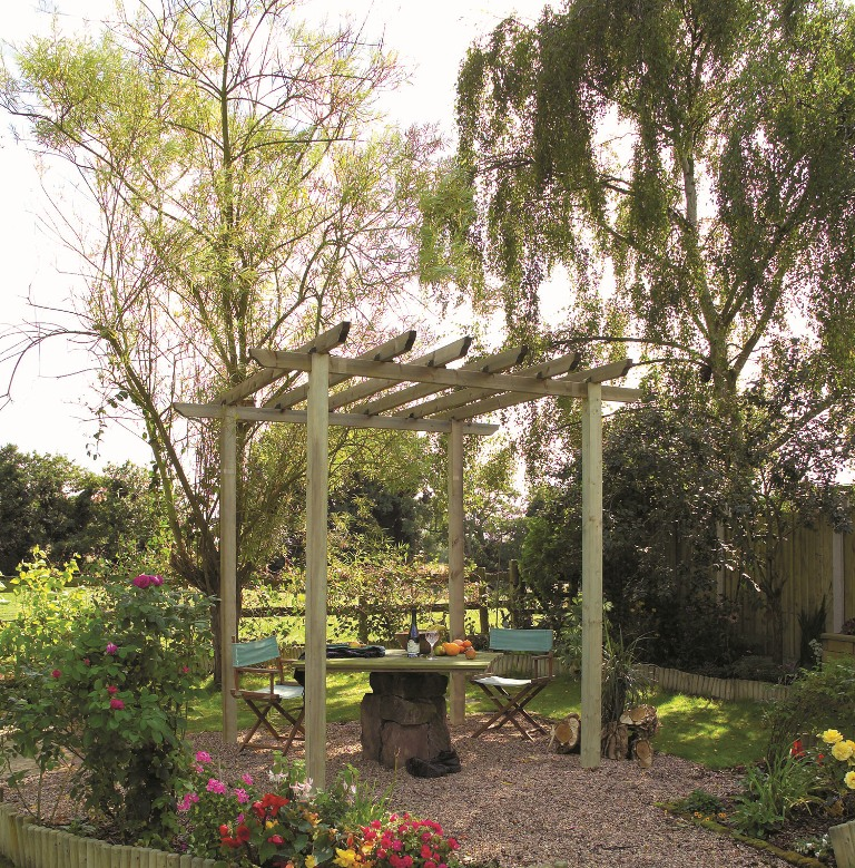 Traditional Pergola Pack A - PKTRADA