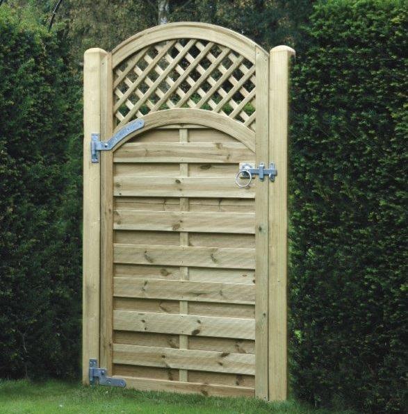 Arched Lattice Top Gate KDALTG180