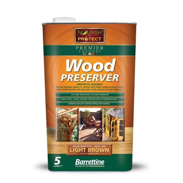 Wood Preserver 5L Light Brown
